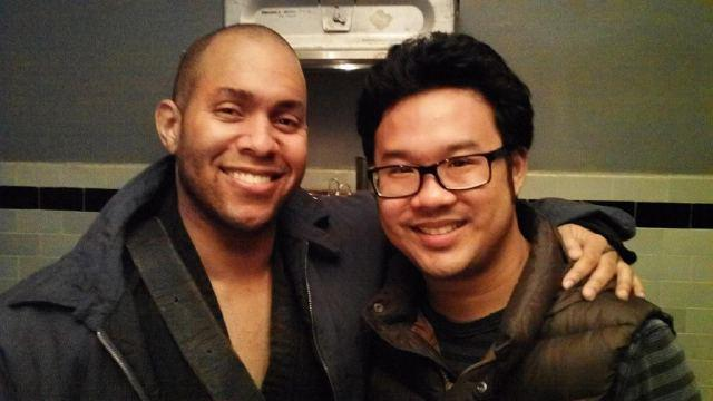 Shane Warren Jones with director Kevin Tancharoen!