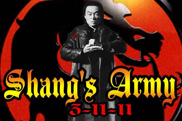 Shang's Army: 3-11-11