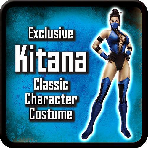 Retro Kitana Costume
