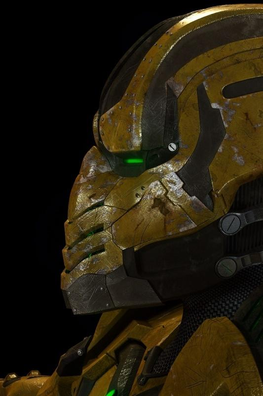 Programmed to Fight -- Cyrax as he appears in Mortal Kombat: Legacy!