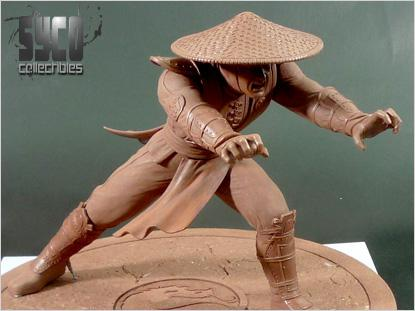 Raiden, Final Approved Sculpt!