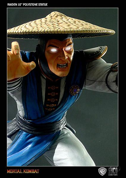Raiden, Final Approved Painted Sculpt!