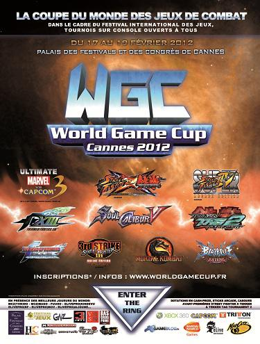Official World Game Cup 2012 Flyer