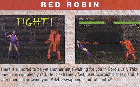 Infotainment World introduce Red Robin in 1995!
