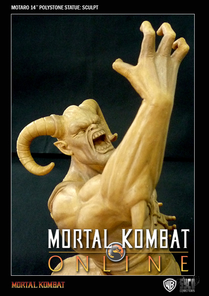 MKO First-Look: Syco Collectibles Motaro Statue Revisions