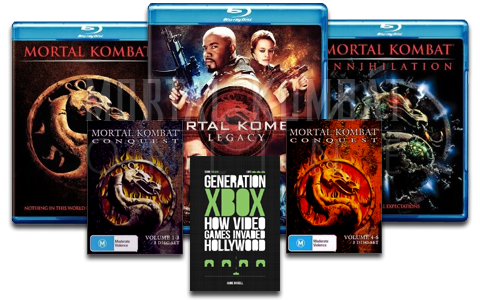 The Ultimate Mortal Kombat Online Movie Prize Pack!