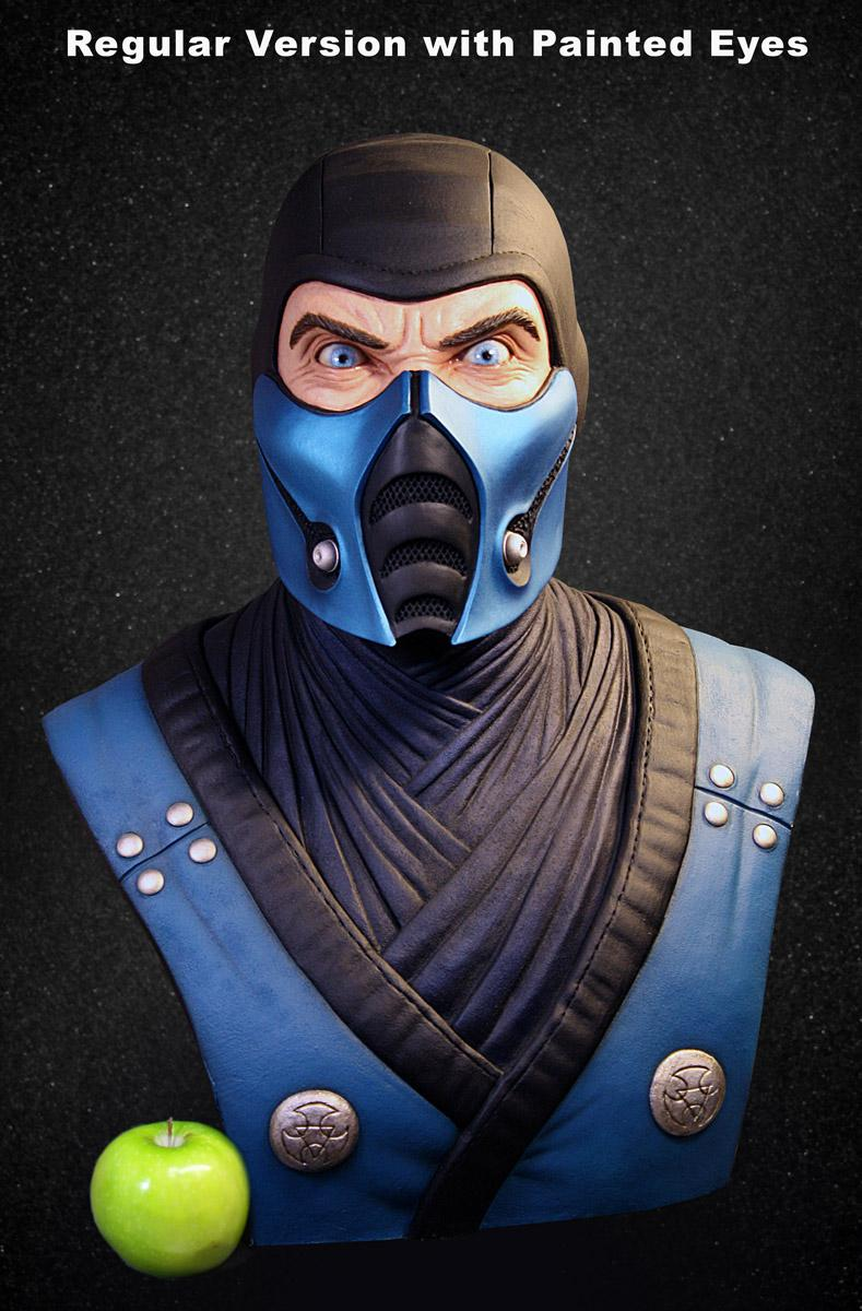Pop Culture Shock Life-Size Bust - Sub-Zero!