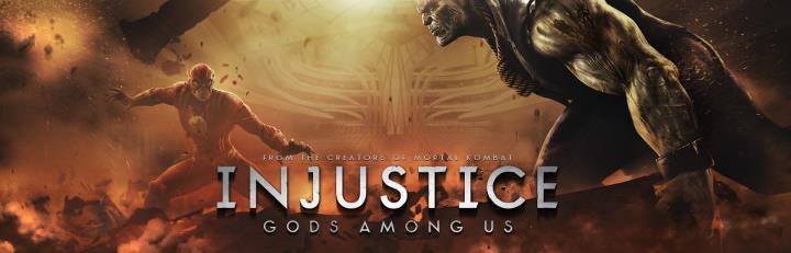 DC Injustice Banners - Flash v Solomon Grundy