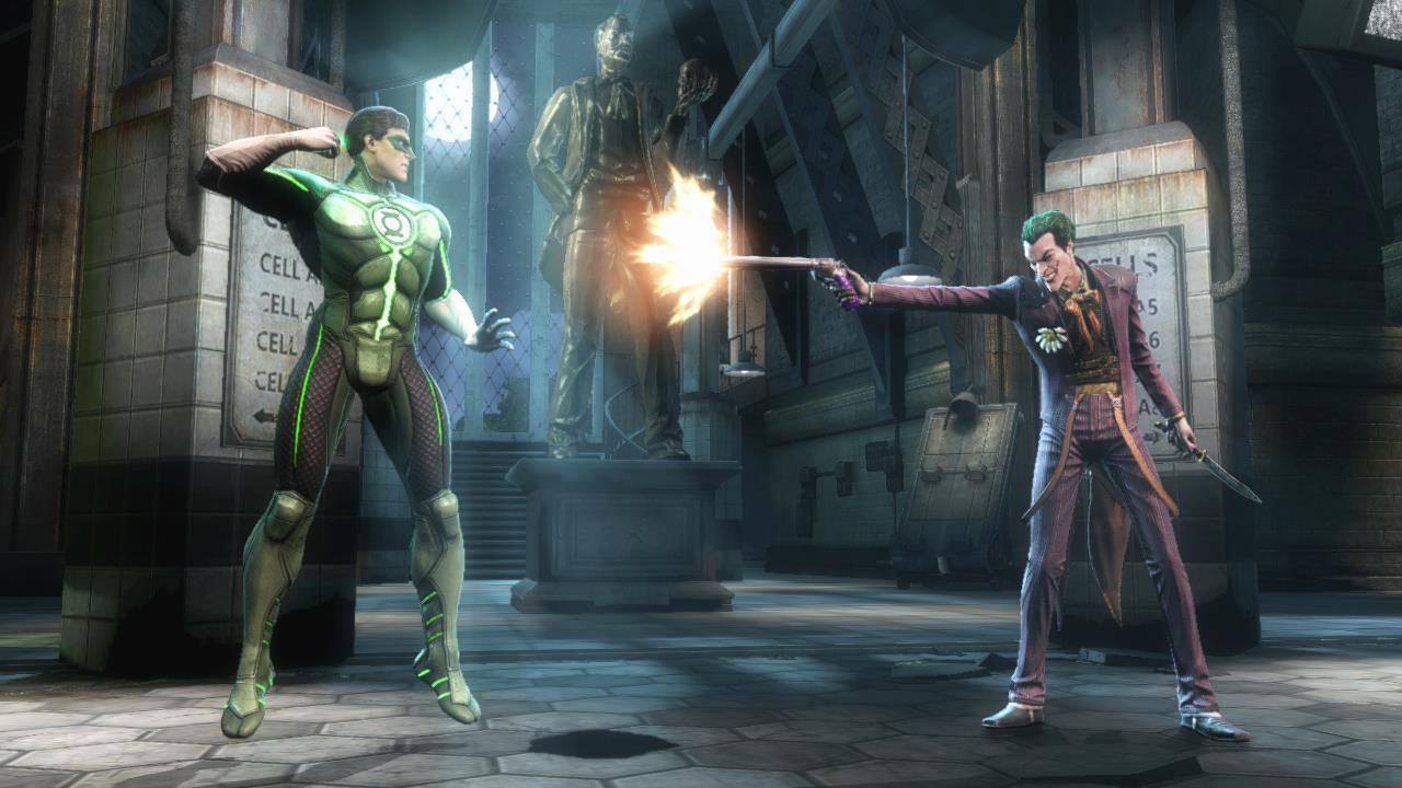 Green Lantern vs The Joker