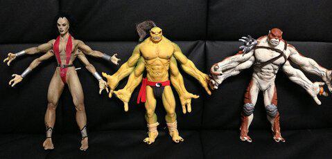 NetherRealm Studios Recover Original Shokan Models - Mortal