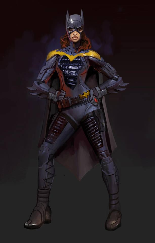 Batgirl Concept Art. Click for more.