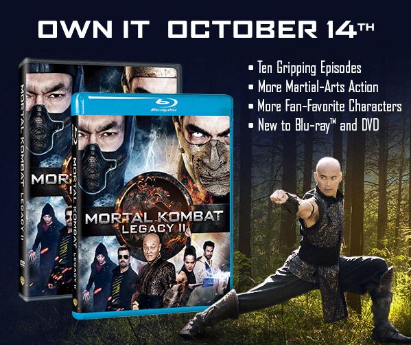Kontest: Mortal Kombat: Legacy II Blu-Ray Launch Giveaway