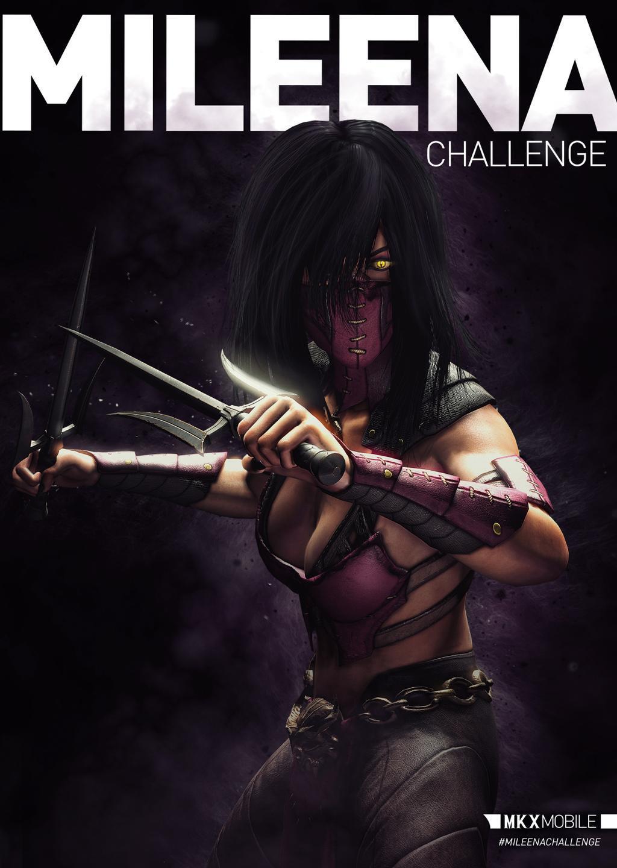 Mortal Kombat X Mobile - Mileena Challenge! - Mortal Kombat Online