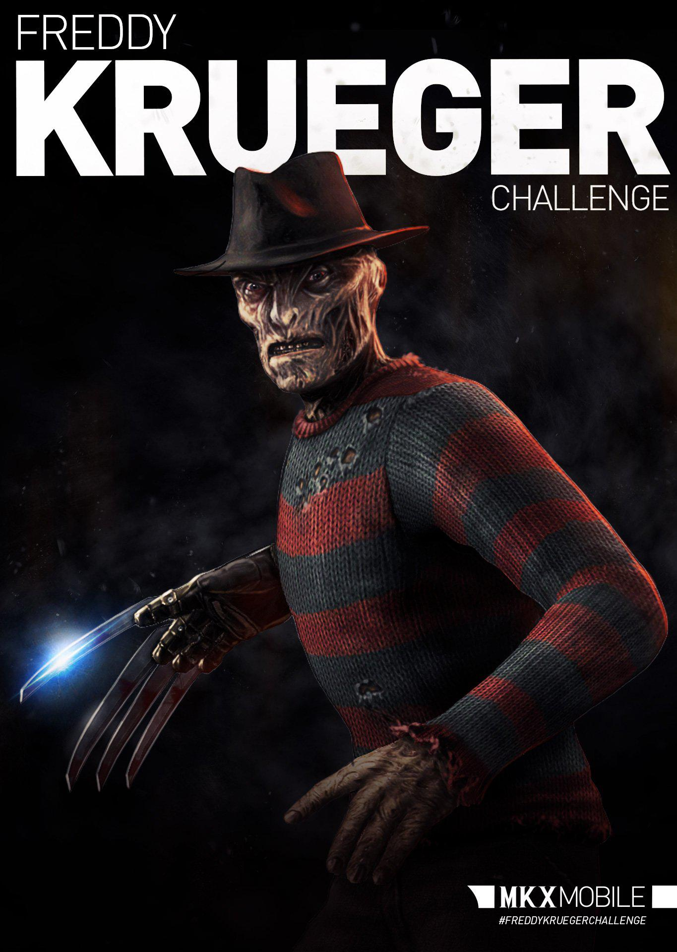 Mortal Kombat X Mobile - Freddy Krueger Challenge - Mortal