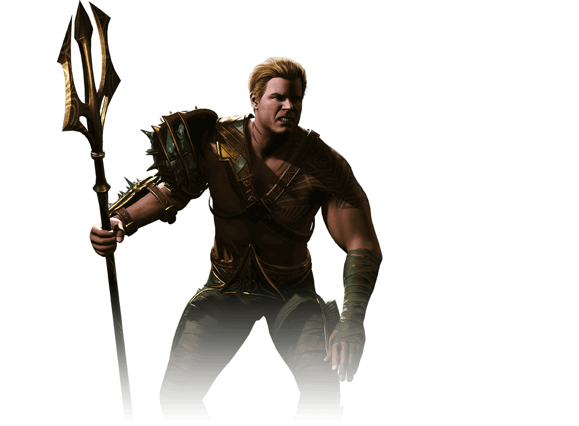 Injustice 2 Aquaman Character Art