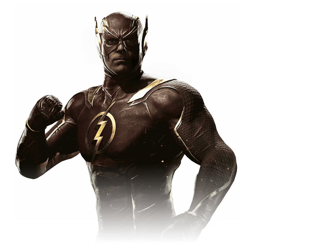 Injustice 2 Flash Character Art