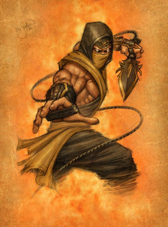 The Scorpion Strikes Mortal Kombat Online