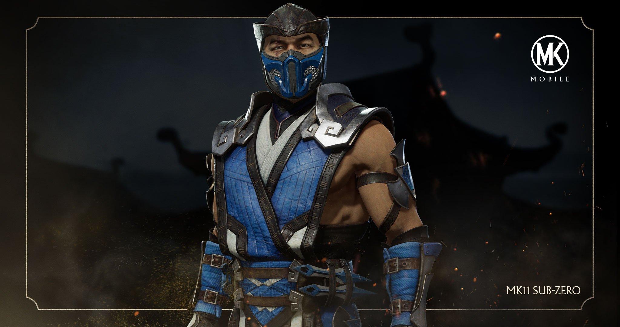 Mortal Kombat 11 Sub-Zero Coming to MK Mobile - Mortal