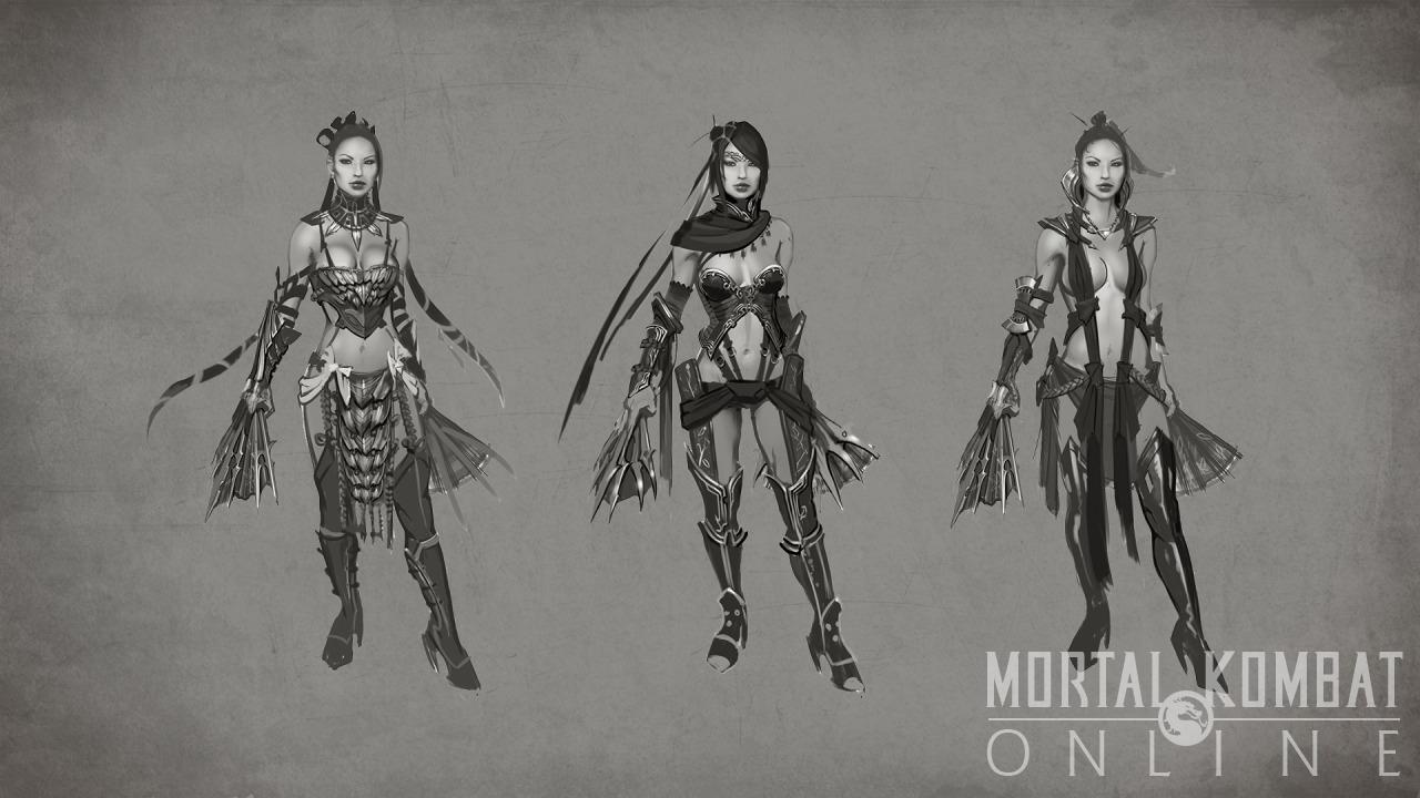 Mortal Kombat X Kitana Concept Art Gallery Mortal Kombat Online
