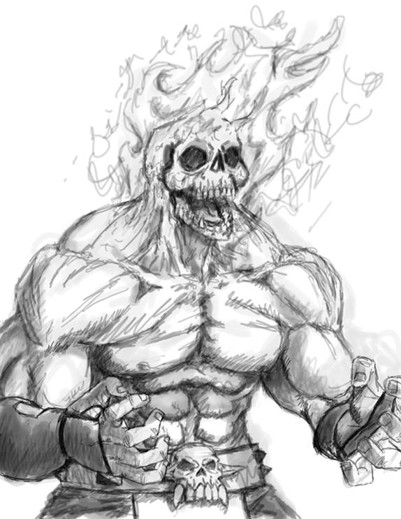 Scorpion Sketch Mortal Kombat Online