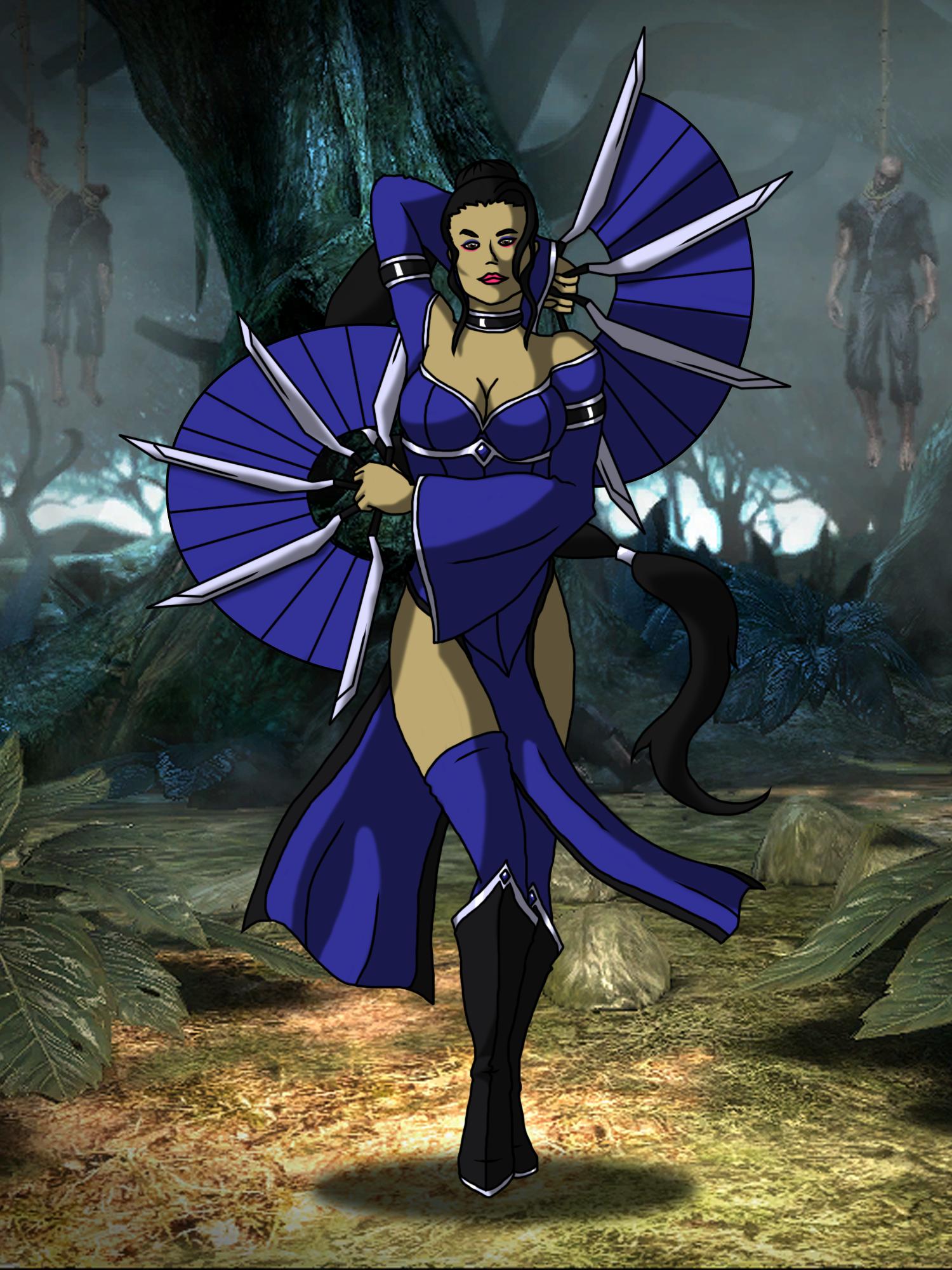 Kitana - Revised Outfit - Mortal Kombat Online