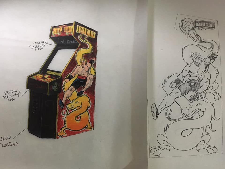 Sensational Artist Unearths Mortal Kombat Arcade Cabinet Concept Art Download Free Architecture Designs Rallybritishbridgeorg