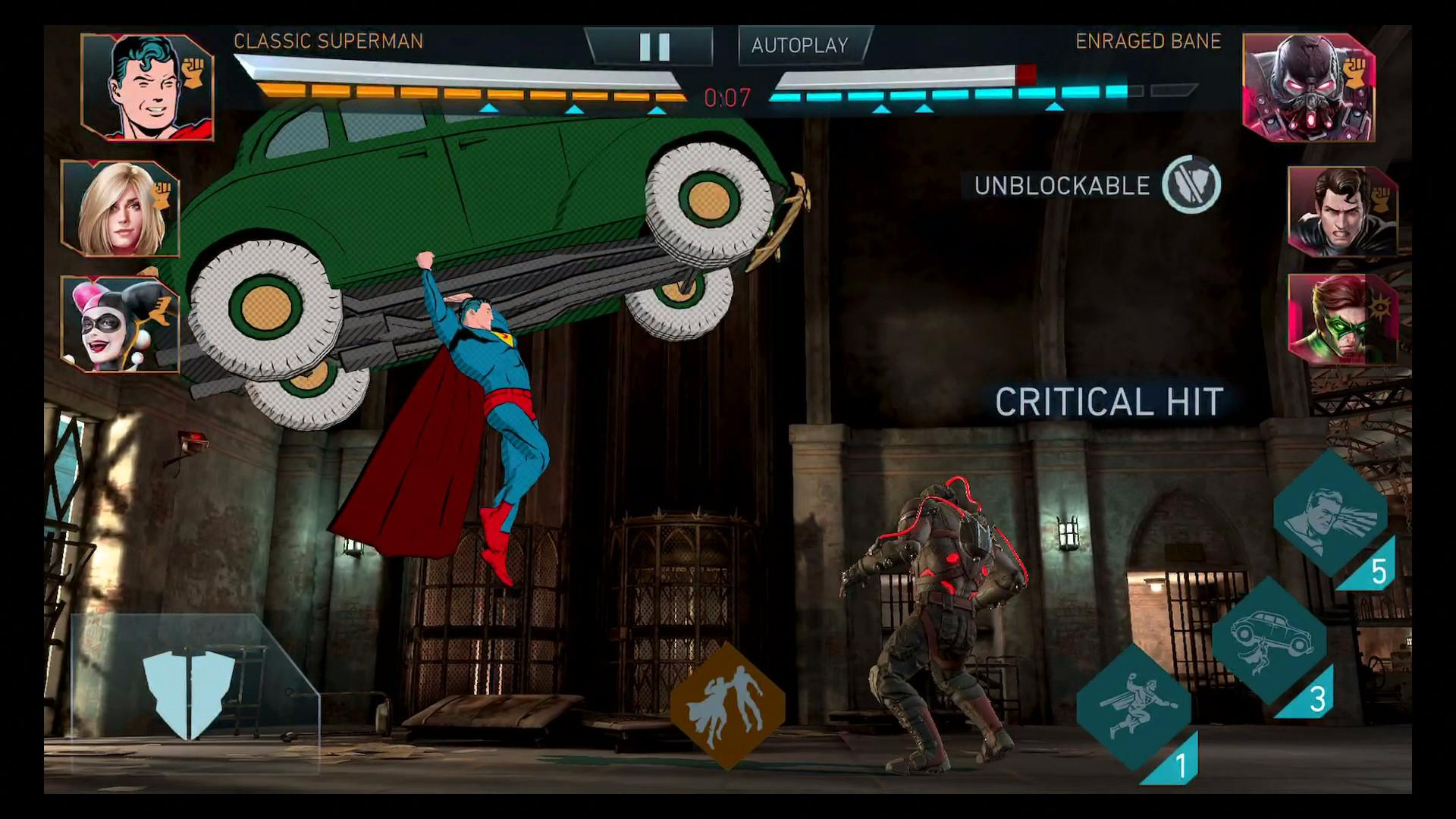 Classic Superman Brings Golden Age to Injustice 2 Mobile